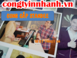 In poster nhanh, bán standee treo poster giá rẻ tại In Kỹ Thuật Số