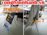 Standee giá rẻ, standee chất lượng, cung cấp banner standee
