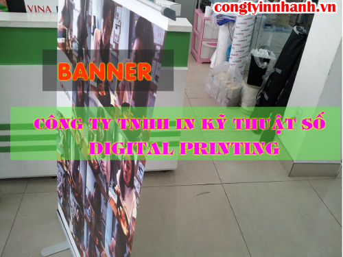Cung cấp kệ X giá rẻ treo poster tại Công ty TNHH In Kỹ Thuật Số - Digital Printing