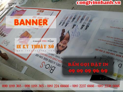 Công ty TNHH In Kỹ Thuật Số - Digital Printing cung cấp banner cuốn giá rẻ tại HCM