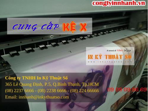 Công ty TNHH In Kỹ Thuật Số - Digital Printing cung cấp sản phẩm in ấn và kinh doanh standy chữ X giá rẻ các loại